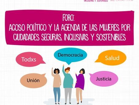 Foro: Acoso político y la Agenda de las mujeres en Perú