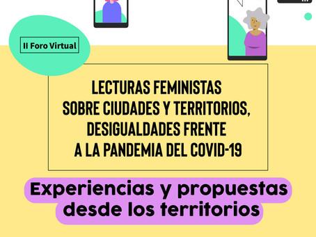 II Foro Virtual: experiencias y propuestas desde los territorios