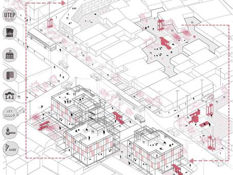 Viviendas transitorias colectivas para la mejora del hábitat urbano