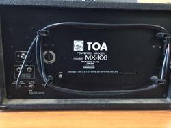 TOA powered mixer #2