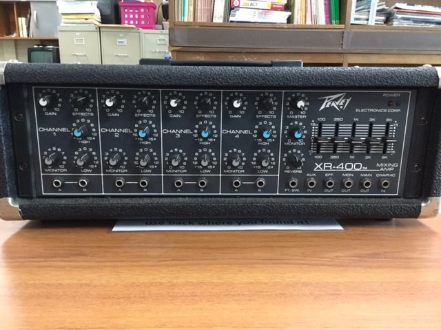 Peavey powered mixer #1