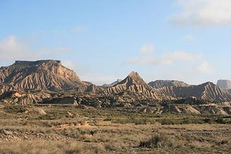 Randonnées dans le désert des Bardenas reales - Espagne