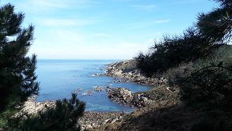 Sentier du littoral - départ cap du figuier