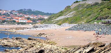 Plage de Parlementia Guéthary - Côte Basque
