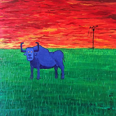 Синий бык