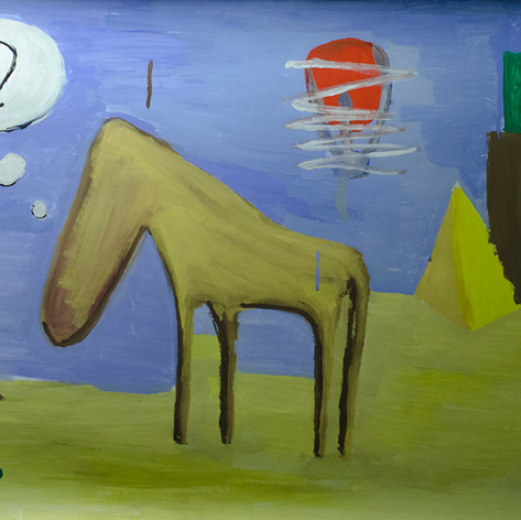 О чём думает лошадь