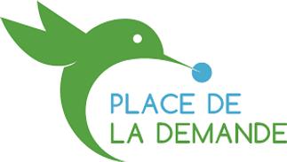 logo de la plateforme de mise en relation Place de la demande