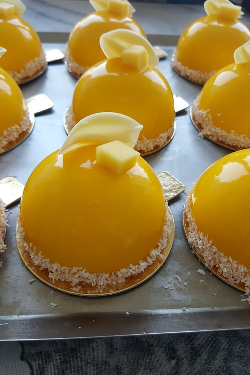 Mango & Passievrucht Tartelette