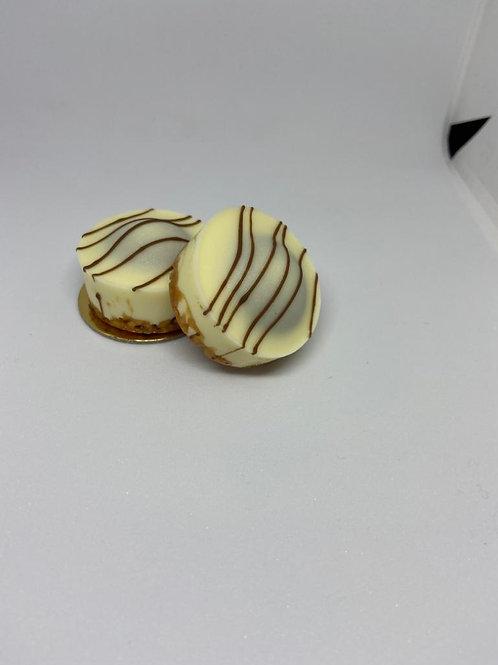 Nougat speculaas koekje