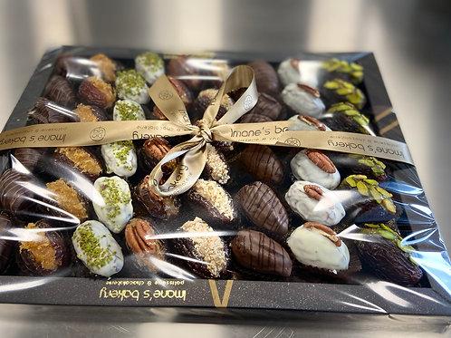 Luxe Rijk Gevulde Majdoula dadels met Callebaut Chocolade