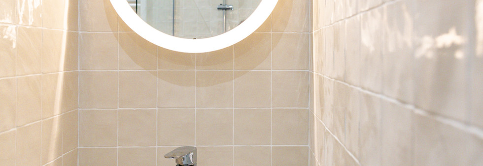 vasque zellige amenagement tendance renovation appartement travaux-decoration lyon architecte intérieur studiolb lisa  bronsztejn sublimer l'espace