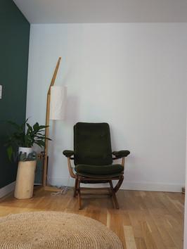 fauteuil vintage amenagement tendance renovation appartement travaux-decoration lyon architecte intérieur studiolb lisa bronsztejn urban jungle
