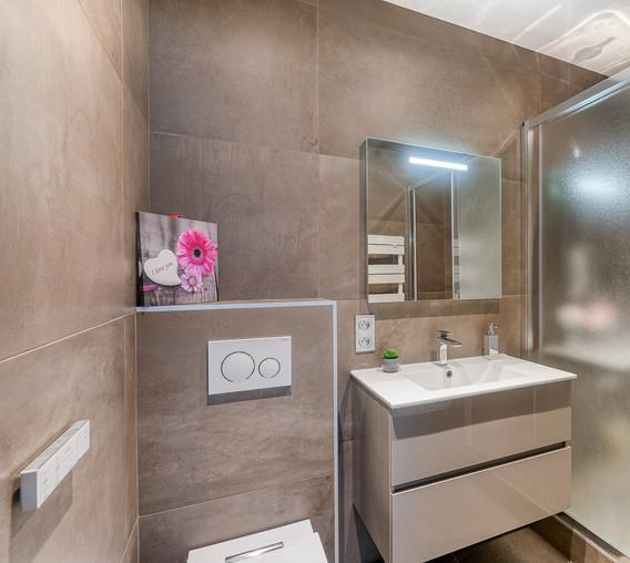 salle de douche haut de gamme amenagement tendance renovation appartement travaux-decoration lyon architecte intérieur studiolb lisa bronsztejn boileau