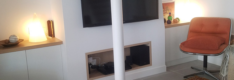 coin TV canut verrière amenagement tendance renovation appartement travaux-decoration lyon architecte intérieur studiolb lisa bronsztejn annonciade