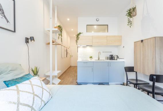 studio gris vert bois amenagement tendance renovation appartement travaux-decoration lyon architecte intérieur studiolb lisa bronsztejn cocon printanier