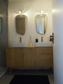 salle de bain haut de gamme amenagement tendance renovation appartement travaux-decoration lyon architecte intérieur studiolb lisa bronsztejn scandinave