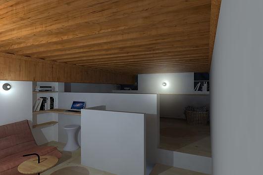 mezzanine boucaud renovation par lisa bronsztejn croix rousse architecte renovation tendance chantie travaux bureau