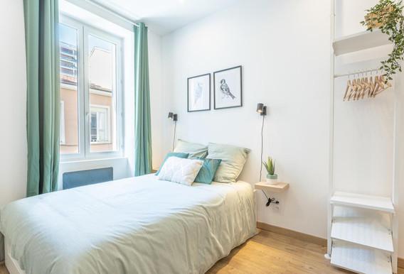 studio airbnb amenagement tendance renovation appartement travaux-decoration lyon architecte intérieur studiolb lisa bronsztejn cocon printanier