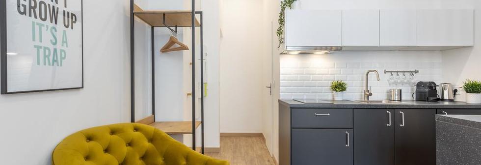 studio contemporain amenagement tendance renovation appartement travaux-decoration lyon architecte intérieur studiolb lisa bronsztejn or et argent