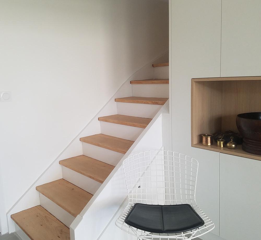 escalier canut verrière amenagement tendance renovation appartement travaux-decoration lyon architecte intérieur studiolb lisa bronsztejn annonciade