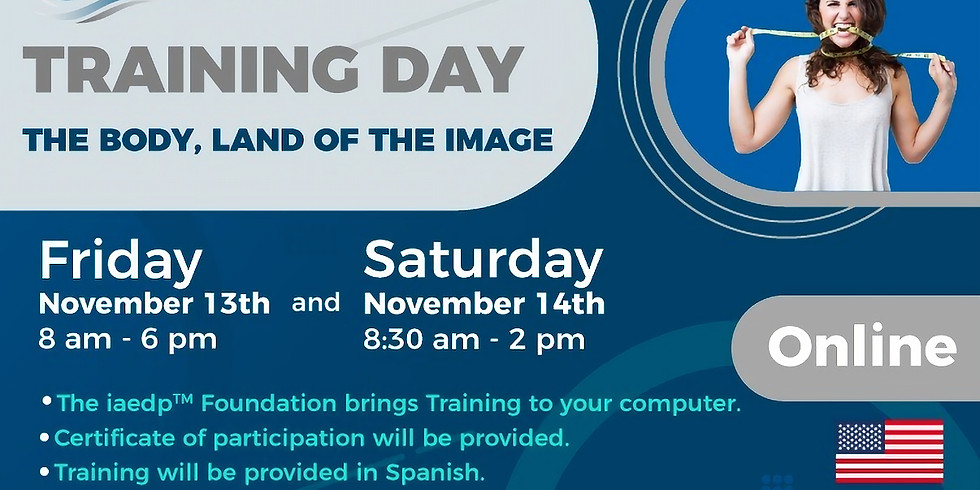 TRAINING DAY the body, land of the image