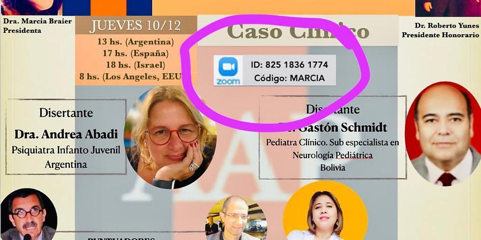 Ateneo de la Asociacion Argentina de Psiquiatria : Capitulo Psiquiatria Infanto Juvenil y FLAPIA