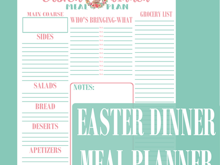 Easter Meal Plan Download
