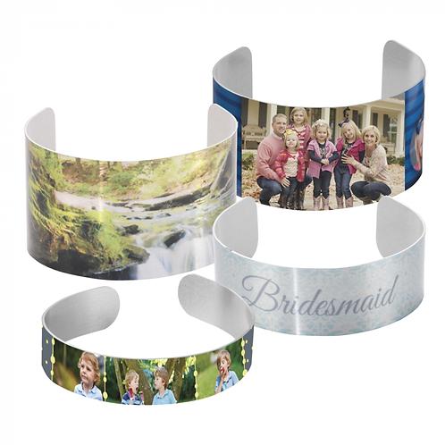 Custom: Cuff Bracelet Small - Extra Lg