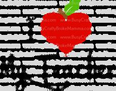 Apple Heart I Love My Teacher.png