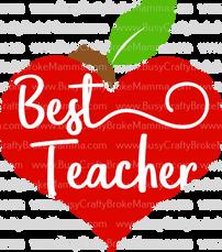 Apple Heart Best Teacher.png