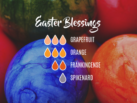 Easter Carpet Refreshing Powder Or Diffuser Blend (Easter Blessings)
