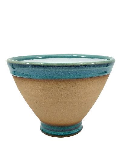 Ocean Blue Ramen Stoneware Bowl