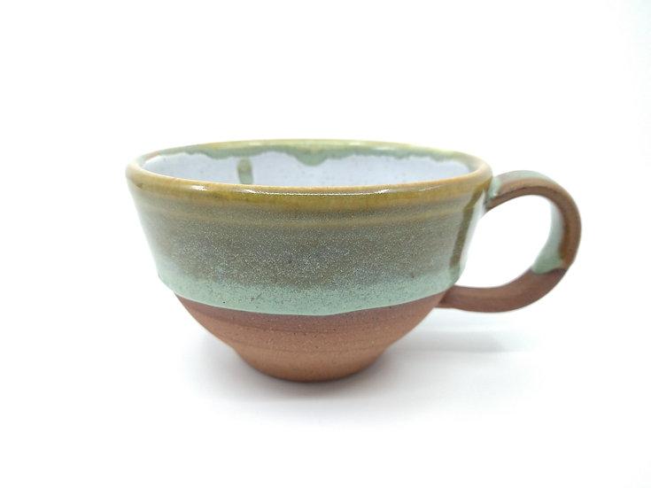 Forest Stoneware Cappuccino Mug