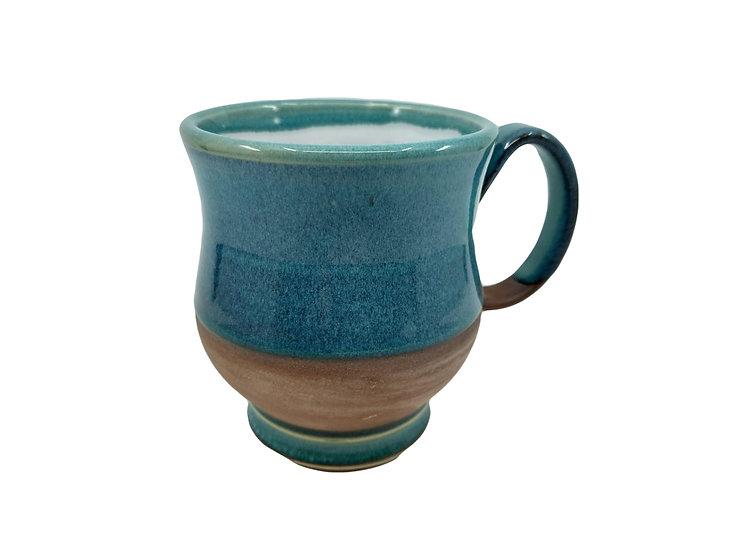 Ocean Blue Stoneware Mug