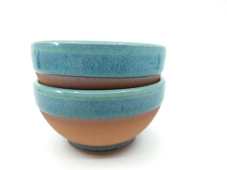 Ocean Blue Small Stoneware Bowl