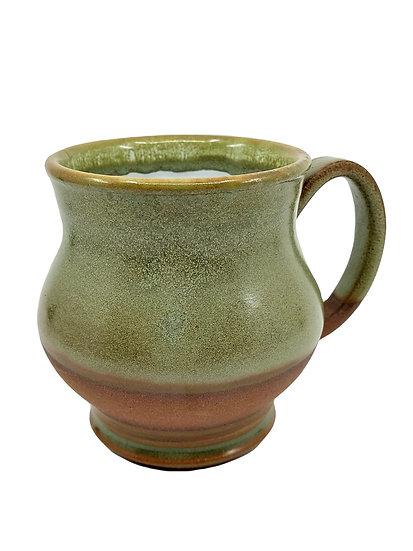 Forest Green Stoneware Mug