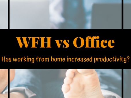 Is working from home more productive than being in the office?