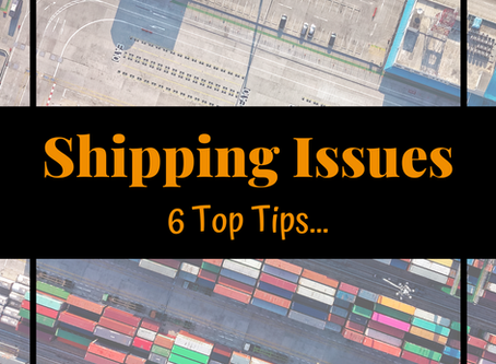 6 Speedy Fixes for Your Shipping Pains & Problems!