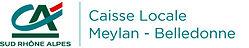 Logo Caisse locale Meylan - Belledonne q
