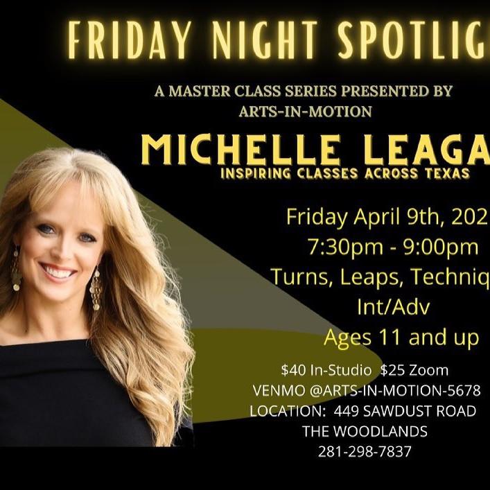 """FRIDAY NIGHT SPOTLIGHT """"MICHELLE"""""""
