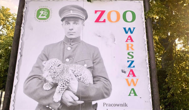 Entrada de zoológica mostra imagens do local antes da Segunda Guerra Mundial
