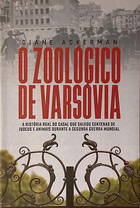 "Livro ""O Zoológico de Varsóvia"" de Diane Ackerman"