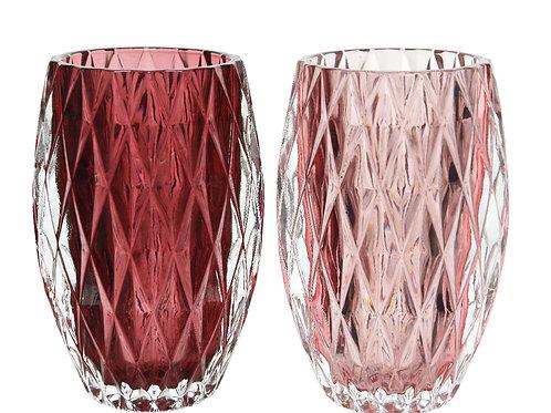 Bicchiere porta candele