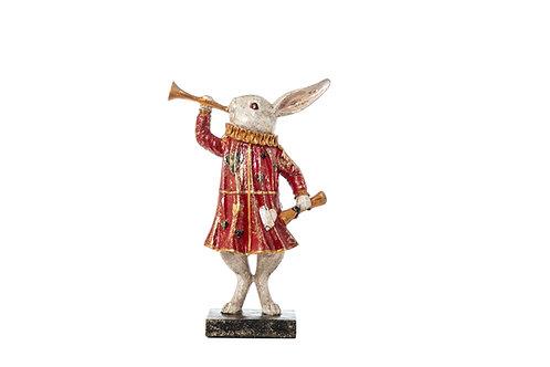 Coniglio con tromba