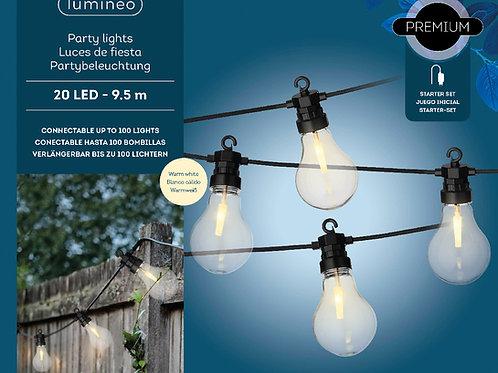 Festoon light outdor 9,5mt