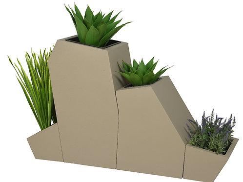 Porta piante resina outdoor