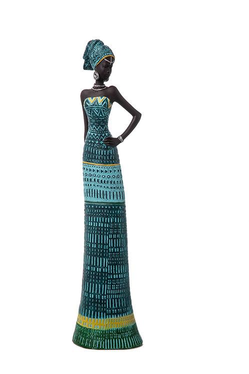 Donna Africana resina