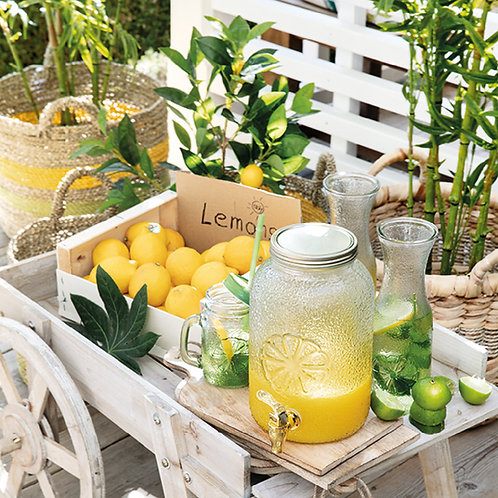 Decanter lemon