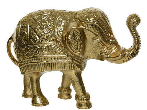 Elefante gold stile indiano