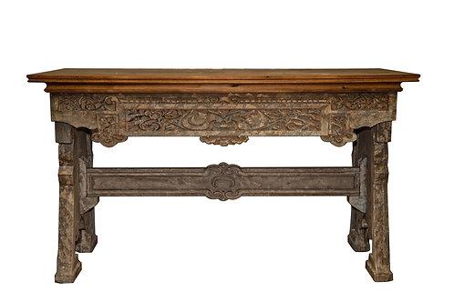 Tavolo legno stile orientale